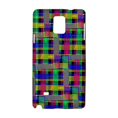 Doodle Pattern Freedom Black Samsung Galaxy Note 4 Hardshell Case