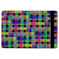 Doodle Pattern Freedom Black iPad Air 2 Flip