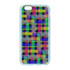 Doodle Pattern Freedom Black Apple Seamless iPhone 6 Case (Color)