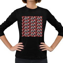 Another Doodle Women s Long Sleeve Dark T Shirts