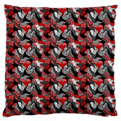 Another Doodle Large Flano Cushion Cases (one Side)