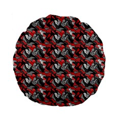 Another Doodle Standard 15  Premium Flano Round Cushions