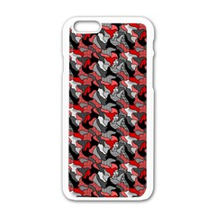 Another Doodle Apple iPhone 6 White Enamel Case