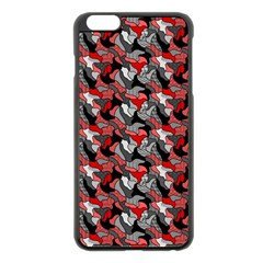 Another Doodle Apple Iphone 6 Plus Black Enamel Case