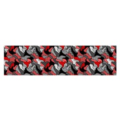 Another Doodle Satin Scarf (Oblong)