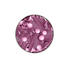 Doodle Fun Pink Hat Clip Ball Marker