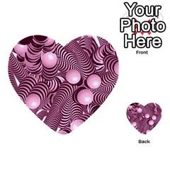 Doodle Fun Pink Multi Purpose Cards (heart)
