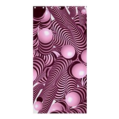 Doodle Fun Pink Shower Curtain 36  X 72  (stall)