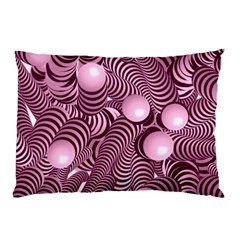 Doodle Fun Pink Pillow Cases (Two Sides)
