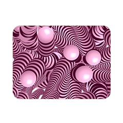 Doodle Fun Pink Double Sided Flano Blanket (mini)