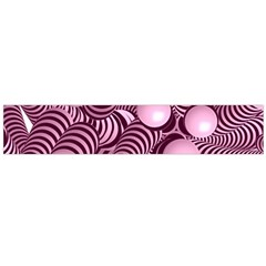 Doodle Fun Pink Flano Scarf (Large)