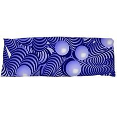 Doodle Fun Blue Body Pillow Cases Dakimakura (Two Sides)