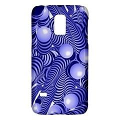 Doodle Fun Blue Galaxy S5 Mini
