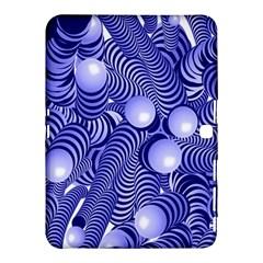 Doodle Fun Blue Samsung Galaxy Tab 4 (10 1 ) Hardshell Case