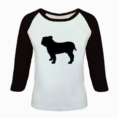 Bulldog Silo Black Kids Baseball Jerseys