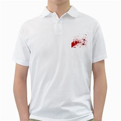 Blood Splatter 1 Golf Shirts