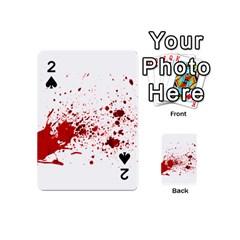 Blood Splatter 1 Playing Cards 54 (Mini)