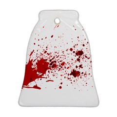 Blood Splatter 1 Bell Ornament (2 Sides)