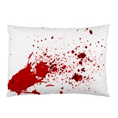 Blood Splatter 1 Pillow Cases (Two Sides)