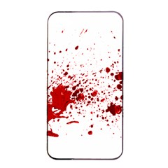 Blood Splatter 1 Apple iPhone 4/4s Seamless Case (Black)