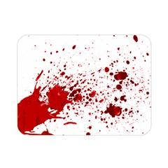 Blood Splatter 1 Double Sided Flano Blanket (Mini)