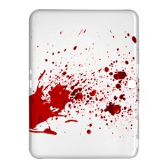 Blood Splatter 1 Samsung Galaxy Tab 4 (10.1 ) Hardshell Case