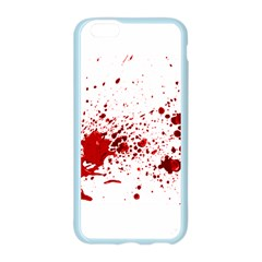 Blood Splatter 1 Apple Seamless iPhone 6 Case (Color)