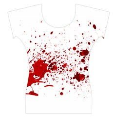 Blood Splatter 1 Women s Cap Sleeve Top