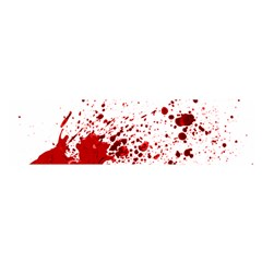 Blood Splatter 1 Satin Scarf (oblong)