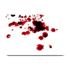 Blood Splatter 2 Plate Mats
