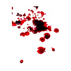 Blood Splatter 2 5.5  x 8.5  Notebooks