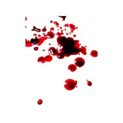 Blood Splatter 2 Shower Curtain 48  x 72  (Small)