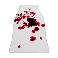 Blood Splatter 2 Bell Ornament (2 Sides)