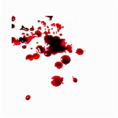 Blood Splatter 2 Small Garden Flag (Two Sides)