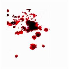 Blood Splatter 2 Large Garden Flag (Two Sides)