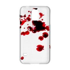 Blood Splatter 2 Samsung Galaxy S5 Hardshell Case
