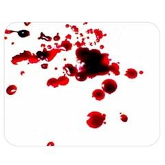 Blood Splatter 2 Double Sided Flano Blanket (Medium)
