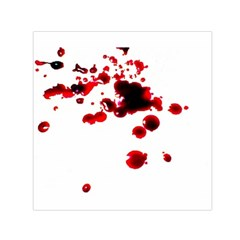 Blood Splatter 2 Small Satin Scarf (Square)