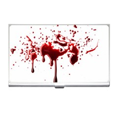 Blood Splatter 3 Business Card Holders