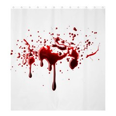Blood Splatter 3 Shower Curtain 66  x 72  (Large)