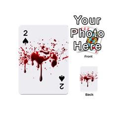 Blood Splatter 3 Playing Cards 54 (Mini)