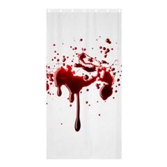 Blood Splatter 3 Shower Curtain 36  x 72  (Stall)