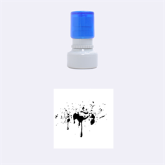 Blood Splatter 3 Rubber Round Stamps (Small)