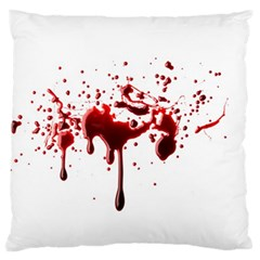 Blood Splatter 3 Standard Flano Cushion Cases (Two Sides)