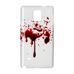 Blood Splatter 3 Samsung Galaxy Note 4 Hardshell Case