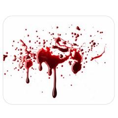 Blood Splatter 3 Double Sided Flano Blanket (Medium)