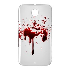 Blood Splatter 3 Nexus 6 Case (White)