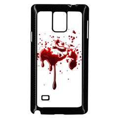 Blood Splatter 3 Samsung Galaxy Note 4 Case (Black)