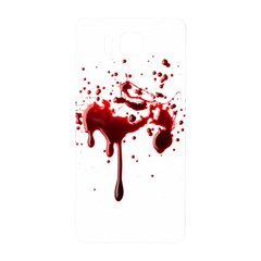 Blood Splatter 3 Samsung Galaxy Alpha Hardshell Back Case