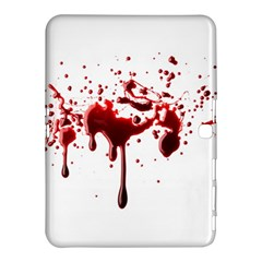 Blood Splatter 3 Samsung Galaxy Tab 4 (10.1 ) Hardshell Case